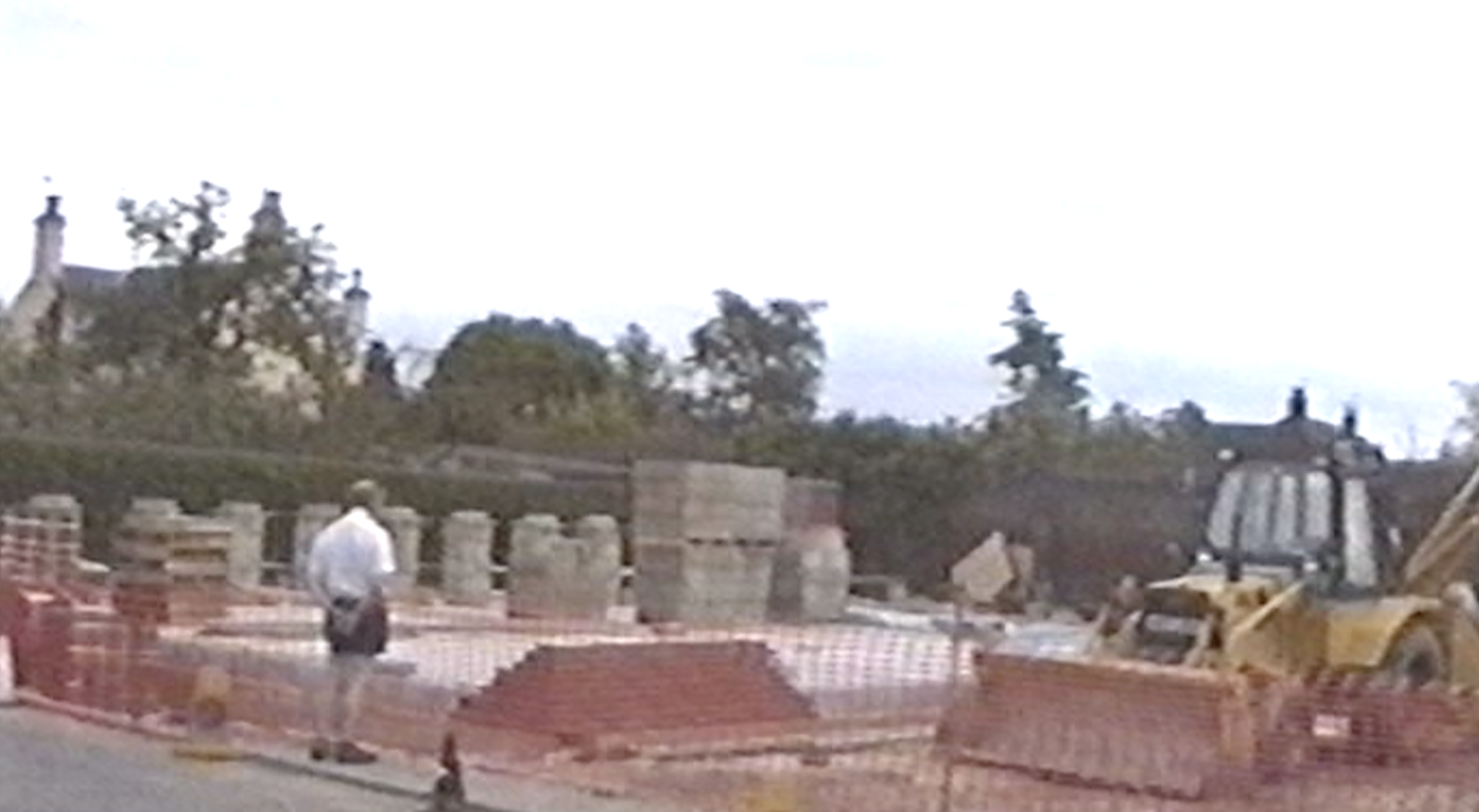 July 1992 Bungay Library is being built.