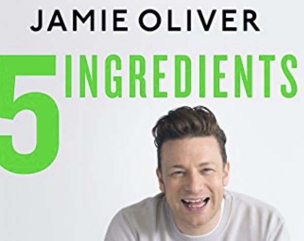 Jamie Oliver Five Ingredients cookery book