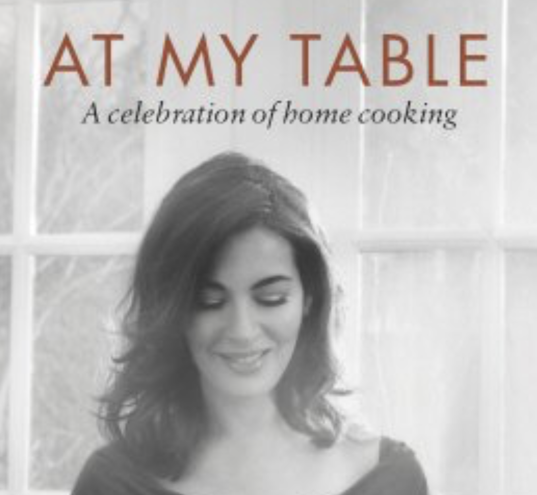 At My Table: A Celebration of Home Cooking has become a new bestseller.