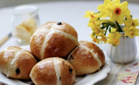 Hot Cross Buns for Easter