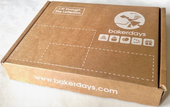 Letterbox Birthday Cake - outer packaging used by Bakerdays to ensure the celebration cake will fit through the letterbox.