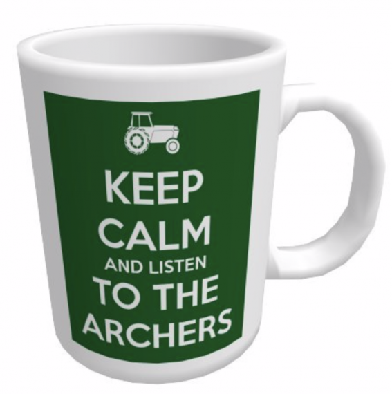 Keep Calm and Listen to the Archers Mug