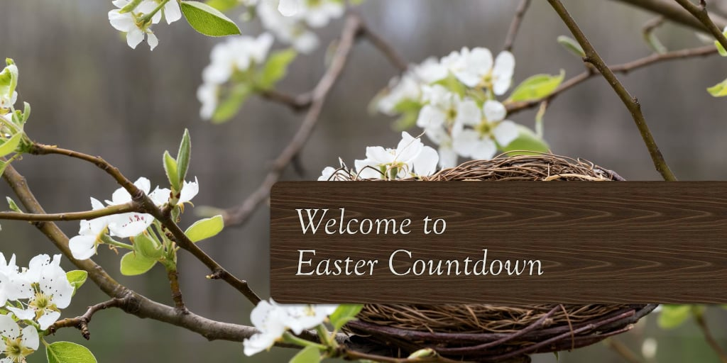 When is Easter this year and how many days until Easter Sunday?