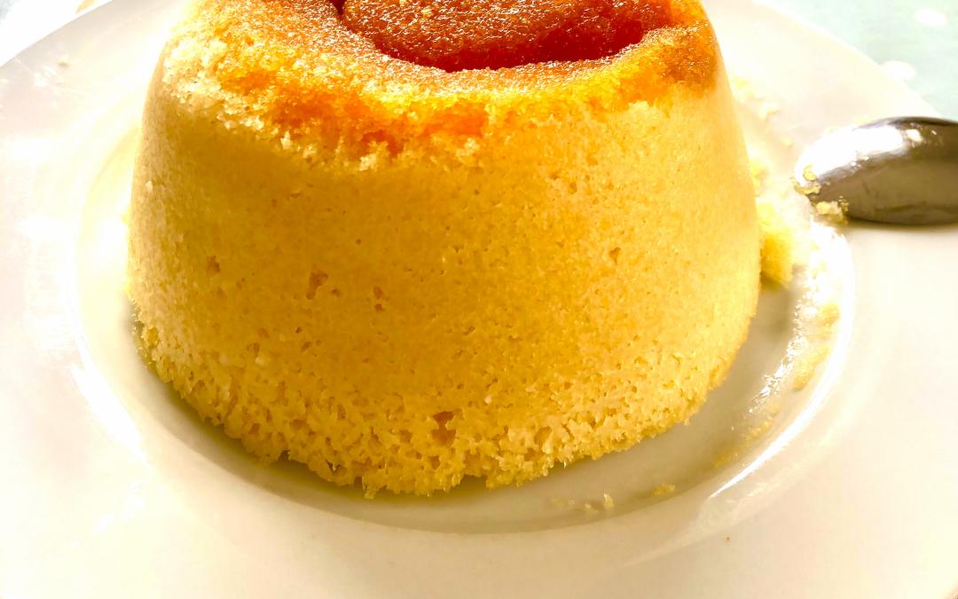 Quick, microwave steam pudding recipe