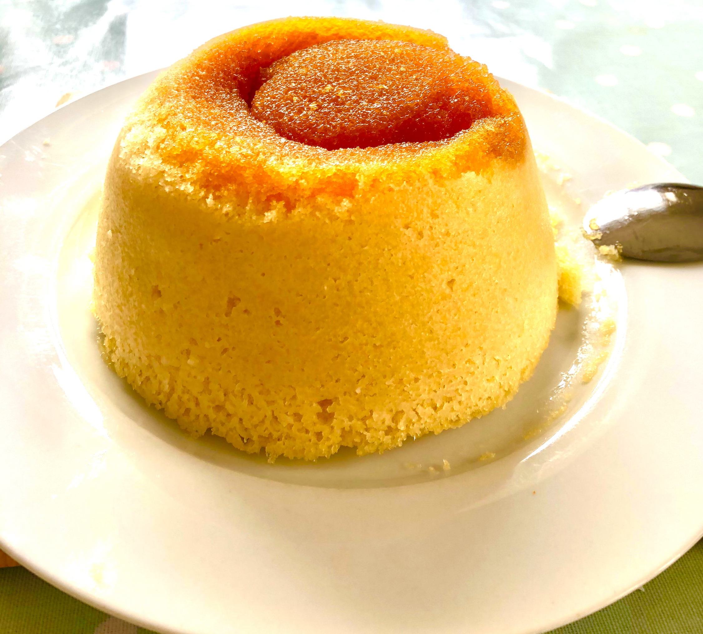 Quick, microwave steam pudding recipe