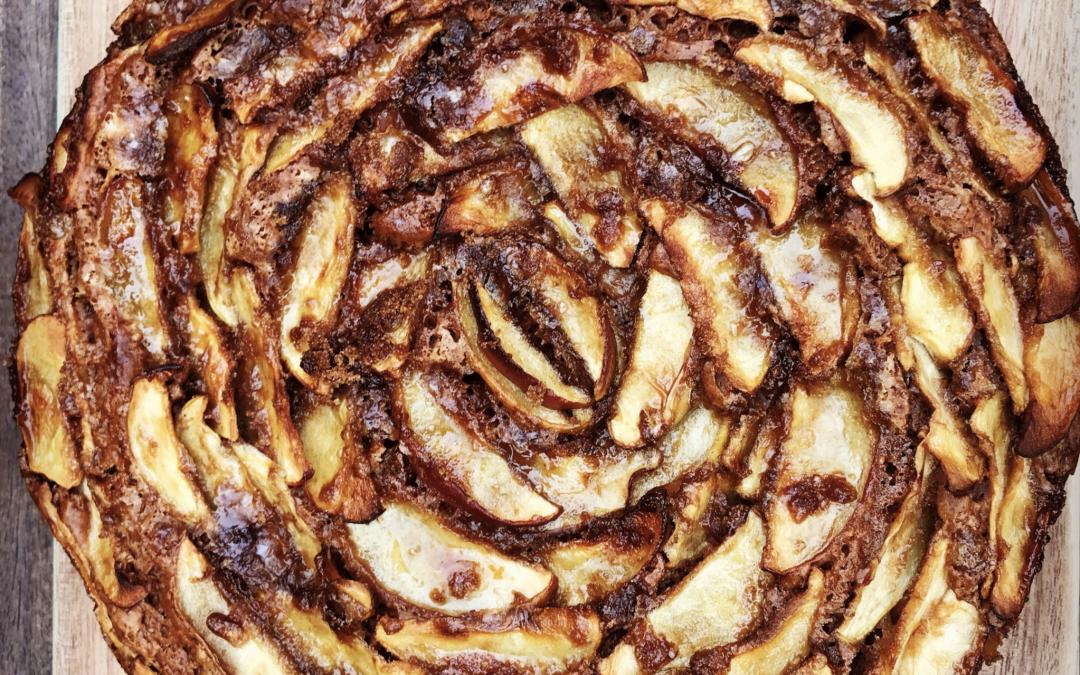 Vegan Dutch Apple Cake