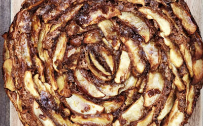 Vegan Dutch Apple Cake